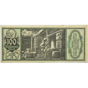 Zoppot, Sopot, 100 milionów marek 1923, bardzo rzadki