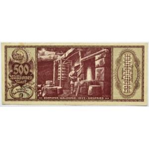 Zoppot, Sopot, 500 milionów marek 1923, rzadki