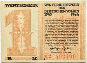 Niemcy, Pomoc zimowa dla narodu niemieckiego, 1 marka 1943/44