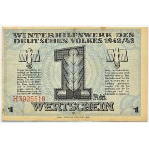Niemcy, Pomoc zimowa dla narodu niemieckiego, 1 marka 1942/43