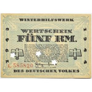 Niemcy, Pomoc zimowa dla narodu niemieckiego, 5 marek 1943/44