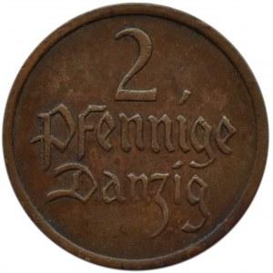 Wolne Miasto Gdańsk, 2 pfennig 1937, Utrecht