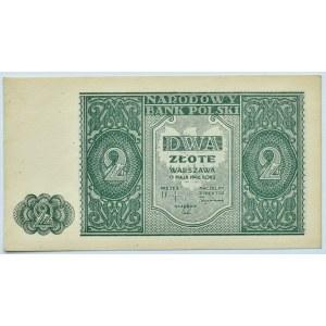 Polska, RP, 2 złote 1946, bez oznaczenia serii, Warszawa