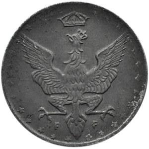 Królestwo Polskie, 20 fenigów 1917, Stuttgart