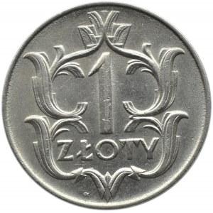 Polska, II RP, 1 złoty 1929, ze znakiem mennicy, Warszawa
