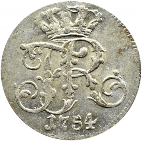 Pomorze, Fryderyk II Wielki, 1/24 talara 1754 G, Szczecin
