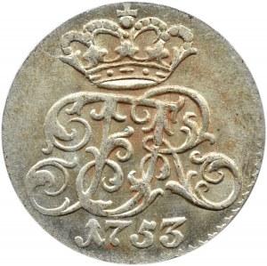 Pomorze, Fryderyk II Wielki, 1/24 talara 1753 G, Szczecin