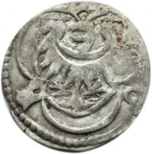 Śląsk, Ludwik II Brzeski, halerz ok. 1430, Brzeg