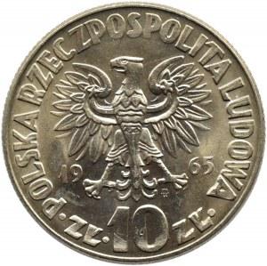 Polska, PRL, M. Kopernik, 10 złotych 1965, Warszawa