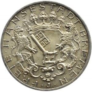 Niemcy, Brema, 2 marki 1904 J, Hamburg, piękne i rzadkie