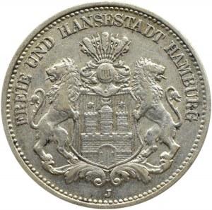 Niemcy, Hamburg, 2 marki 1904 J, Hamburg