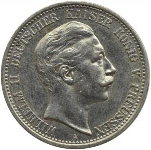 Niemcy, Prusy, Wilhelm II, 2 marki 1906 A, Berlin