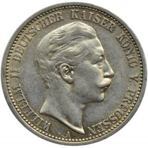 Niemcy, Prusy, Wilhelm II, 2 marki 1908 A, Berlin