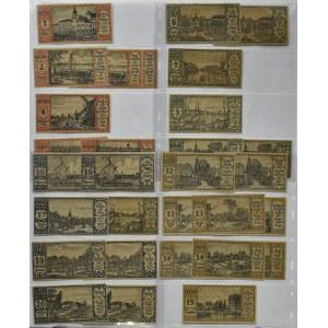 Berlin, mega lot notgeldów, 30 sztuk, 16 różnych rodzajów