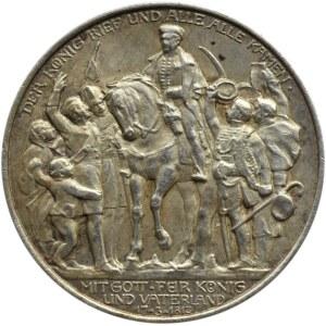 Niemcy, Prusy, Wilhelm II, 2 marki 1913 A, Berlin, Bitwa pod Lipskiem
