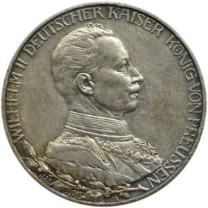 Niemcy, Prusy, Wilhelm II w mundurze, 2 marki 1913 A, Berlin