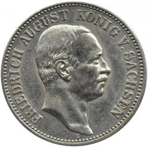 Niemcy, Saksonia, Fryderyk August, 2 marki 1908 E, Muldenhütten
