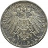 Niemcy, Wirtembergia, Wilhelm II, 2 marki 1908 F, Stuttgart