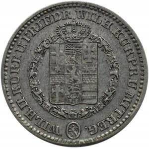 Niemcy, Hesja, Wilhelm II, 1/6 talara 1840 - RZADKOŚĆ - 6000 sztuk nakładu
