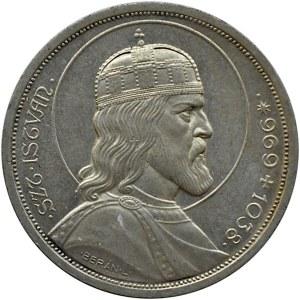 Węgry, św. Stefan, 5 pengo 1938, UNC