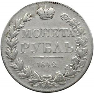 Mikołaj I, rubel 1842 MW, Warszawa