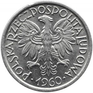 Polska, PRL, Jagody, 2 złote 1960, Warszawa