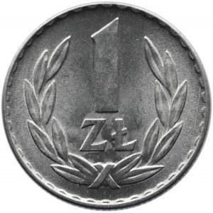 Polska, PRL, 1 złoty 1966, Warszawa