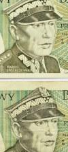 Polska, PRL, lot 50 złotych 1988, seria HT/HC, destrukty