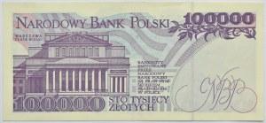 Polska, III RP, 100000 złotych 1993, seria A, Warszawa