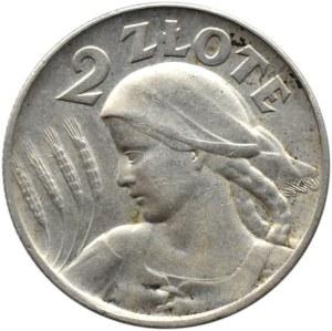 Polska, II RP, Kłosy, 2 złote 1925, Londyn