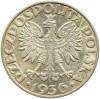 Polska, II RP, Żaglówka, 5 złotych 1936, Warszawa, Piękne!!