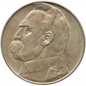 Polska, II RP, Józef Piłsudski, 10 złotych 1935, piękny