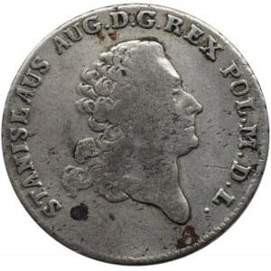 Stanisław A. Poniatowski, dwuzłotówka 1773 A.P., Warszawa, rzadka!!! (R3)