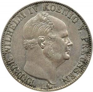 Niemcy, Prusy, Fryderyk Wilhelm IV, talar 1855 A, Berlin