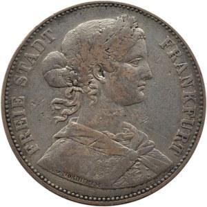 Niemcy, Frankfurt, talar 1862, Frankfurt