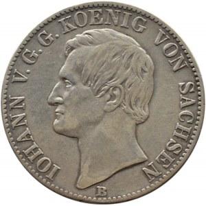 Niemcy, Saksonia, Johann, talar 1864 B, Hanower