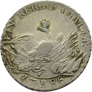 Niemcy, Prusy, Fryderyk, talar 1786 B, Wrocław
