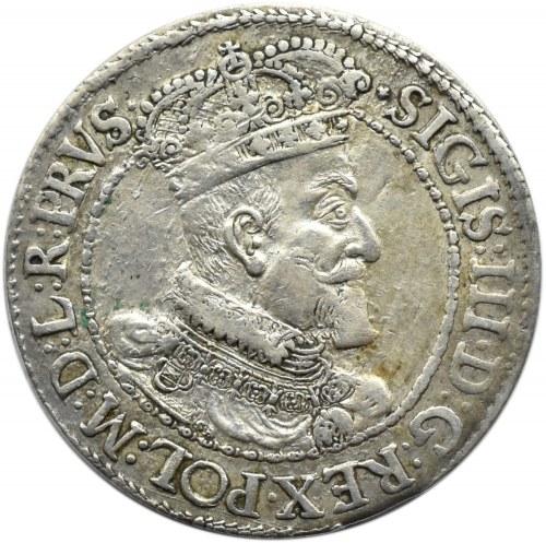 Zygmunt III Waza, ort 1617, Gdańsk