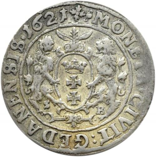 Zygmunt III Waza, ort 1621, Gdańsk, SB - Stenzel Berman