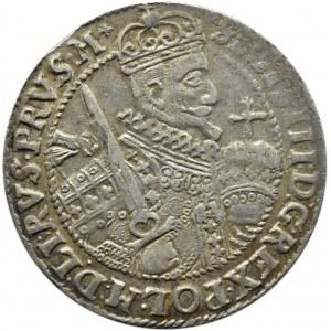 Zygmunt III Waza, ort 1623, Bydgoszcz, duża trójka w dacie, PRVS.M+