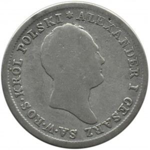 Aleksander I, 2 złote 1824 I.B., Warszawa