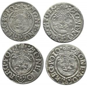 Zygmunt III Waza, lot półtoraków 1620, herb Sas, Bydgoszcz, każdy inny