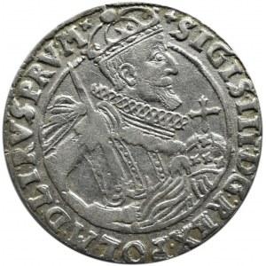 Zygmunt III Waza, ort 1623, Bydgoszcz, KOKARDY - rzadki (R4)