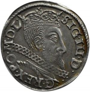 Zygmunt III Waza, trojak 1597, Bydgoszcz, NIENOTOWANY