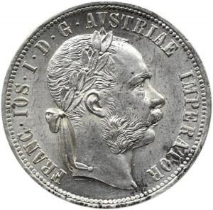 Austro-Węgry, Franciszek Józef I, 1 floren 1879, Wiedeń