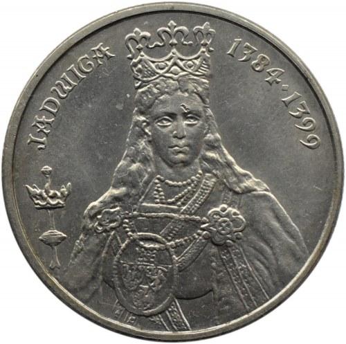 Polska, PRL, 100 złotych 1988, Jadwiga bez znaku mincerza