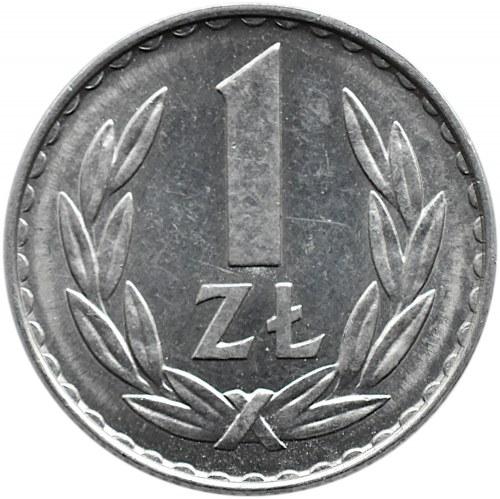 Polska, PRL, 1 złoty 1977, Warszawa
