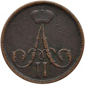 Aleksander II, 1 kopiejka 1861 B.M., Warszawa