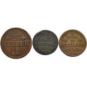 Niemcy, Julich-Berg, lot miedzianych monet 1759-1783
