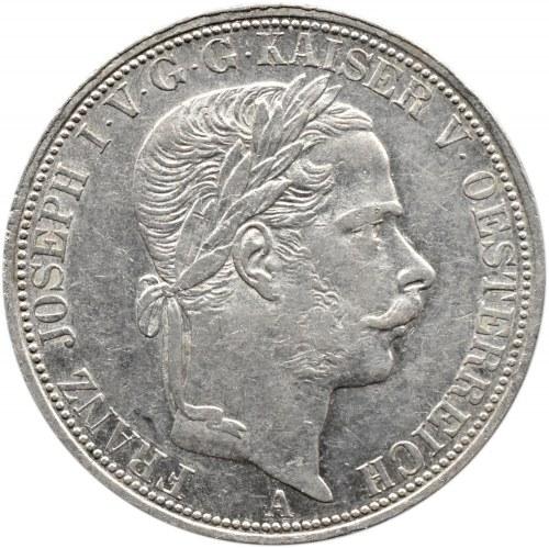 Austria, Franciszek Józef I, talar 1866 A, Wiedeń